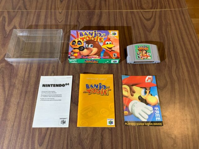 Banjo Tooie (Nintendo 64, N64) Complete in Box -- Authentic