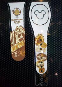 Disney Parks HOLLYWOOD TOWER HOTEL Terror Black Magic Band Magicband 2 New