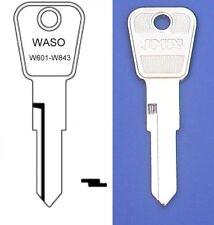 PETROL - FUEL GAS CAP WASO KEY CUT TO CODE  W601 TO W843 CLASSIC CAR LOCKING CAP