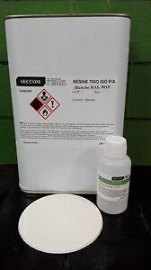 Resine-polyester-iso-BLANCHE-RAL9010-5-kg-Durcisseur-100-ml-doseur
