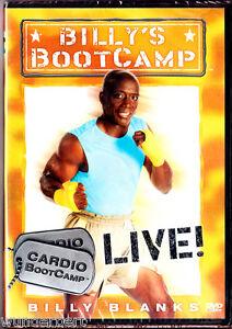 "DVD - neu & ovp - "" Billys BOOTCAMP - Cardio Bootcamp Live ! "" - Billy Blanks"