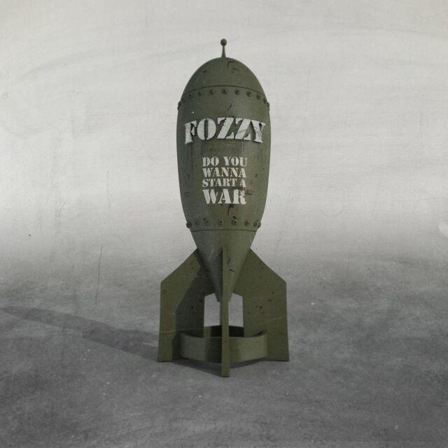 FOZZY - DO YOU WANNA START A WAR (JEWEL BOX)  CD NEU
