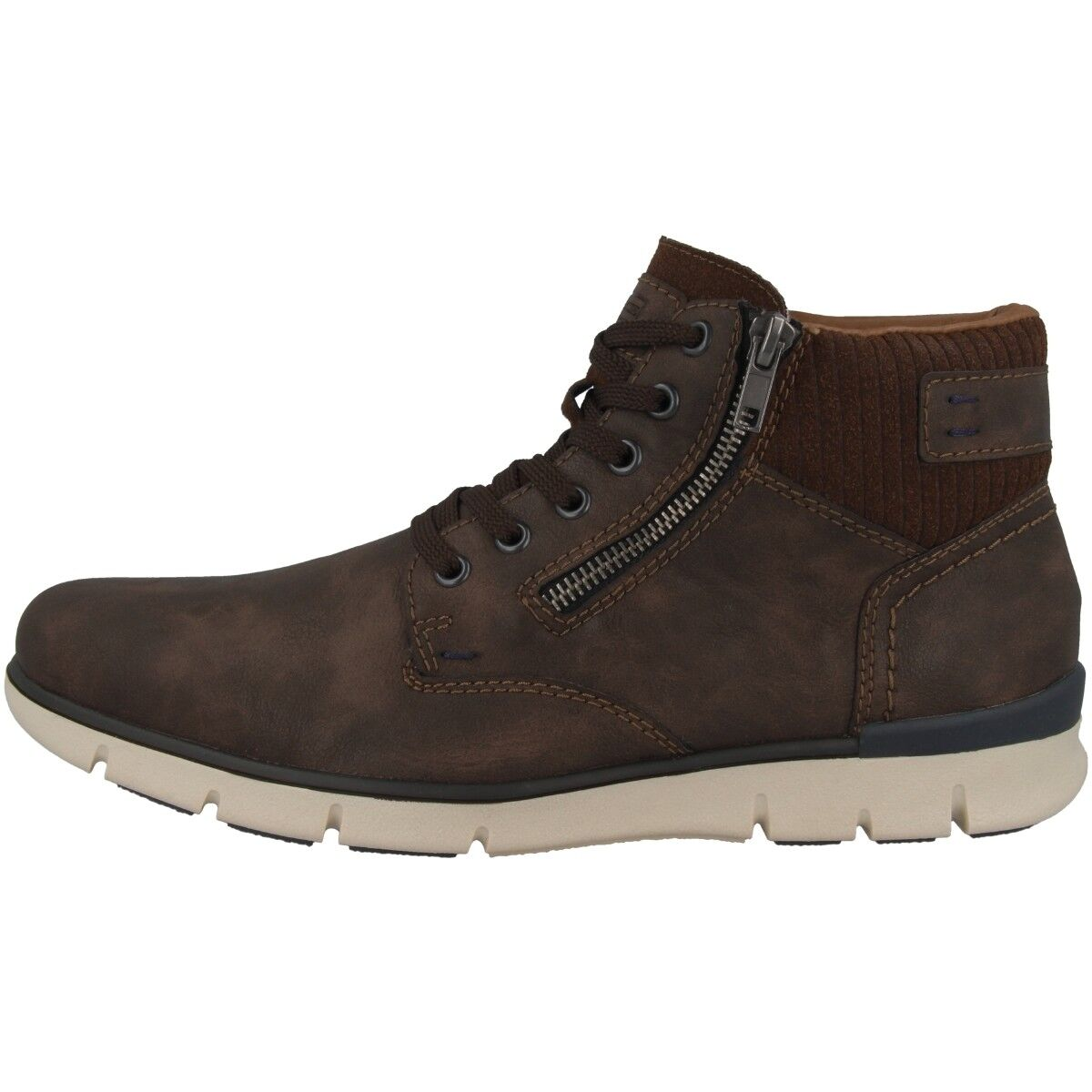 Rieker Tamburo-Virage Schuhe Men Herren Antistress Winter Halbschuhe F8323-26