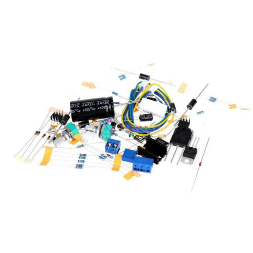 0-30V 2mA-3A Adjustable DC Regulated Power Supply DIY Kit Short Protection PCB