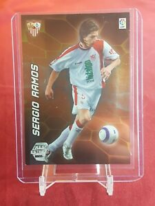 SERGIO-RAMOS-Sevilla-REAL-MADRID-megacracks-2005-06-PANINI-ROOKIE-CARD-2nd