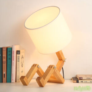 Little Man Wooden Table Lamp