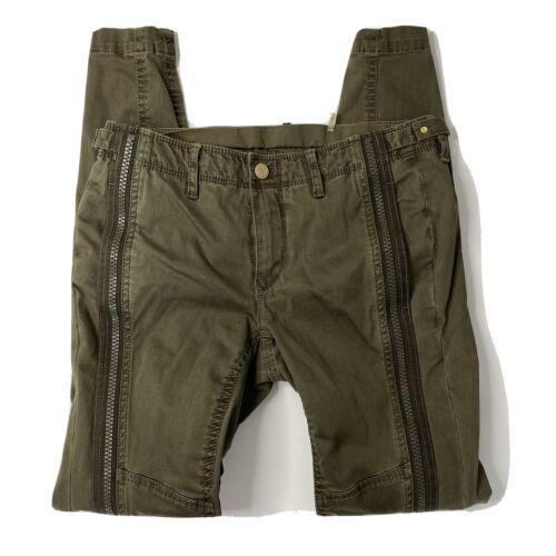 Jordan Louis Women 26 Zip Skyler Pant in Army gree