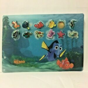Set-of-12-Pin-039-S-Disney-with-Board-Nemo