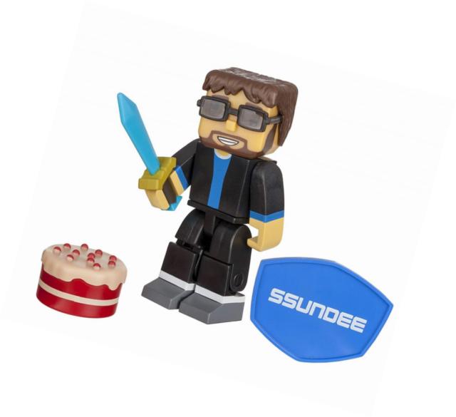 Tube héros ssundee Figurine avec accessoires multi-couleur