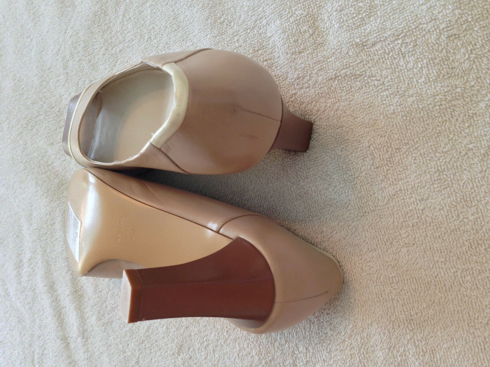 Bruno Magli Capriate Beige chaussures chaussures chaussures 10M (40) ac2ae5