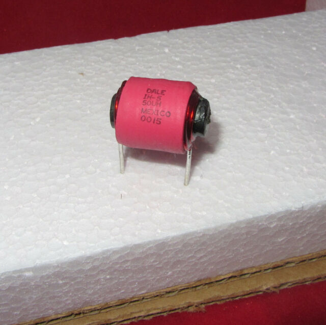 Vishay Dale IH-5 Noise Filter Inductor Coil - High Current - 50uH, 8A, Ferrite