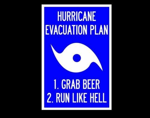 Смешные ураган эвакуации знак фото захватить пивом как ад-Бич тики бар пос