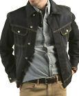 New Lee Denim Jacket Dark Wash Color Men's Sizes M, L, XL, XXL Riders Trucker