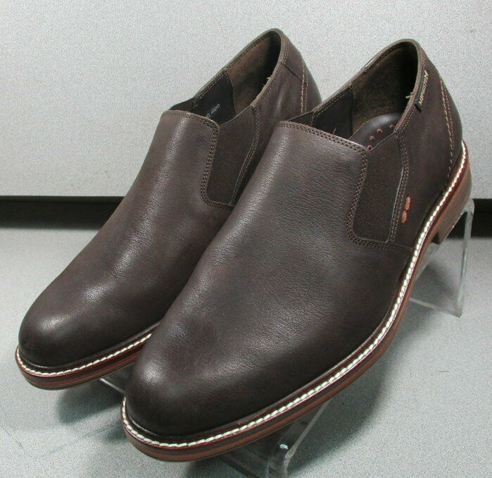 MNP226191 BROWN MMMS75 Men's shoes Size 8 Eur 7.5 Leather Slip On Mephisto
