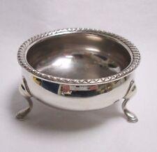 Vintage Reproduction George II Footed Sterling Silver Salt Cellar 836