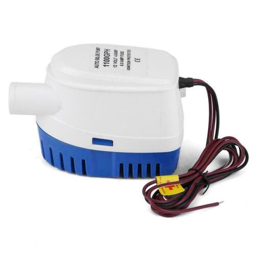 12V 1100GPH Auto Wasserpumpe Automatische Bilgepumpe Lenzpumpe Schwimmerschalter