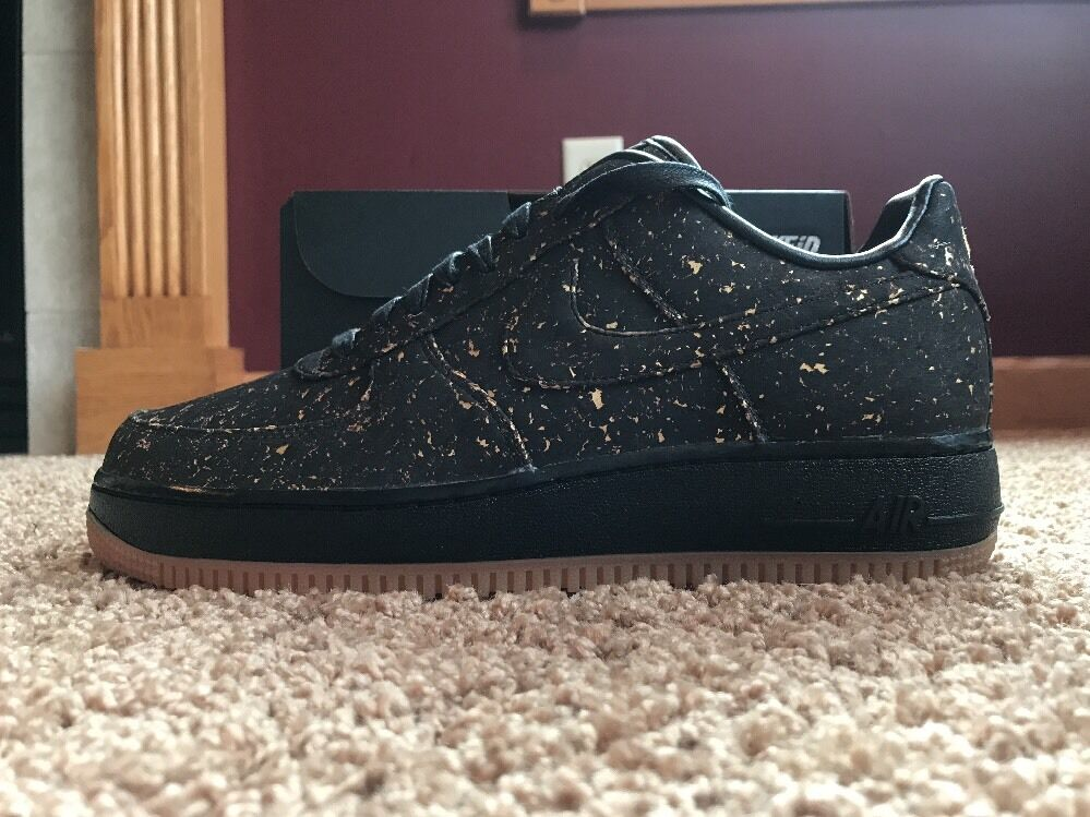New Nike Men's Air Force 1 Low Premium ID ID ID Cork  golden State Warriors  Size 8 21f997