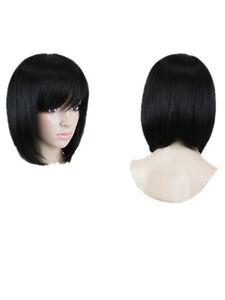 846-perruque-Cheveux-Synthetiques-Mode-Longue-Perruque-lisse-courts-au-carre