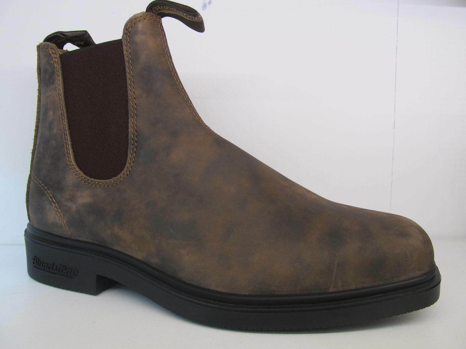 Blundstone RUSTICO 1306 elastici in pelle Caviglia marrone lati vestito alla Caviglia pelle Chelsea Boot SCARPA 20d78e