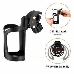 Portable 360° Bike Bracket Scooter Bicycle Water Bottle Drink Cup Holder Mount