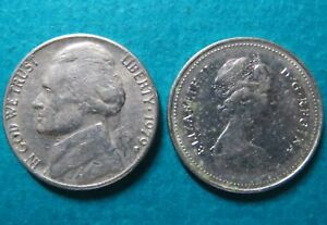 Lot-of-2-1979-US-CANADA-5-CENTS-COINs-gt-1979-Lot-of-2-US-CANADA-5-CENTS-COINs-4