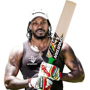 Spartan-Chris-Gayle-The-Boss-Grade-1-English-Willow-Cricket-Bat-Short-handle