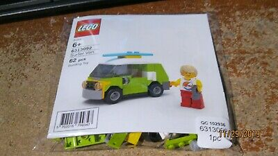 FREE SHIPPING. Great Condition Sufer Van NIB LEGO 6313092 Exclusive Polybag