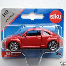 Siku 1417 VW The Beetle (latest shape) - red