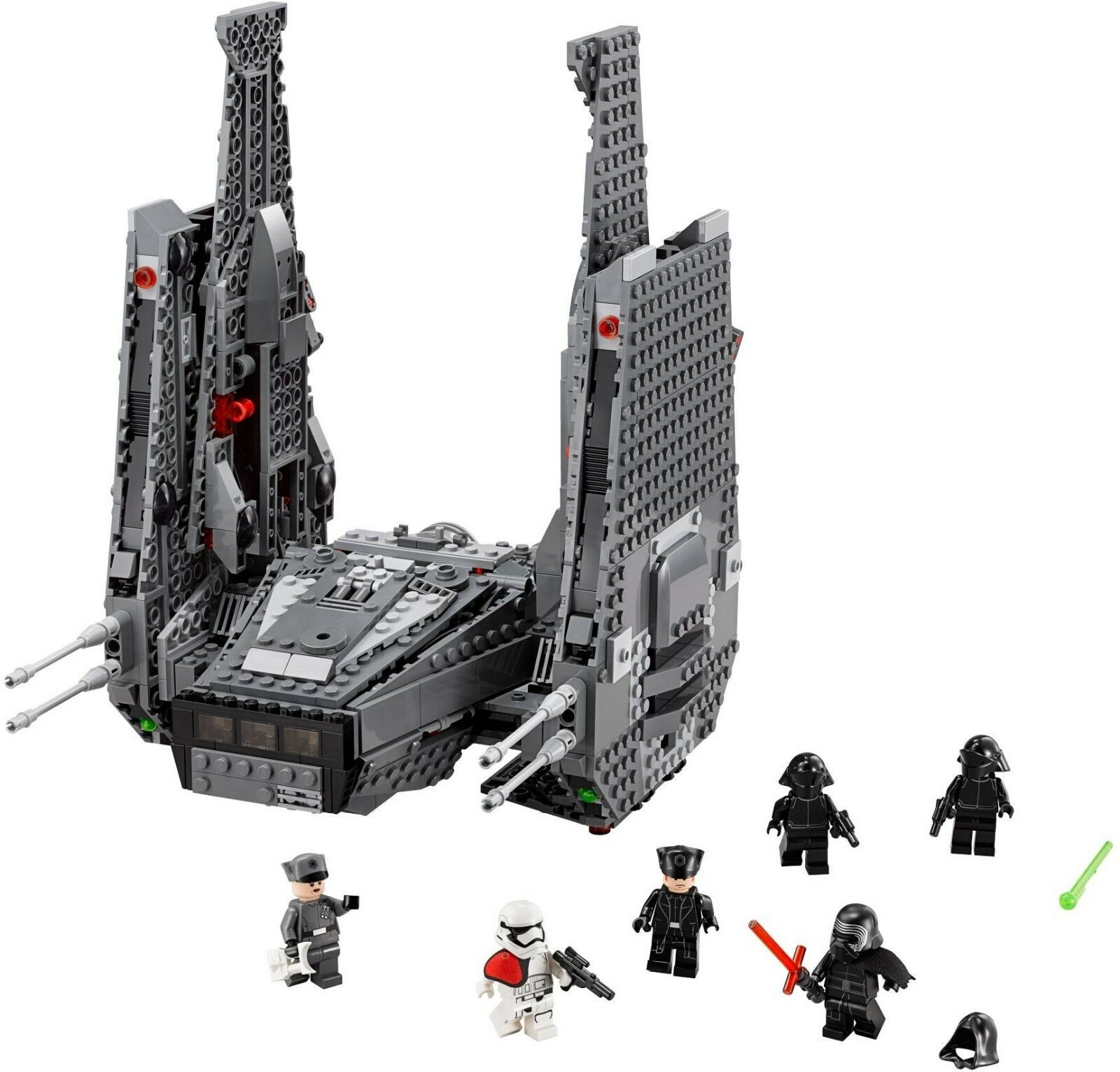 LEGO Star Wars 75104 Kylo Ren's Shuttle 100% Complete w/ Manual & Minifigures