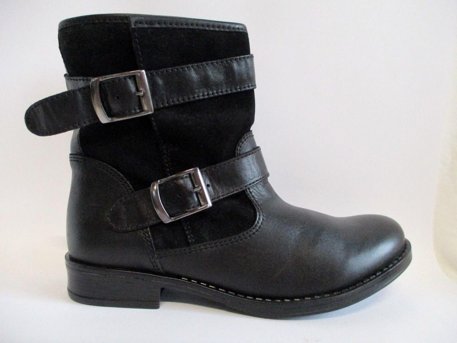 ZIGN Klassische Stiefeletten Gr.42 Ankle Chelsea Boot Leder Schwarz Gr.42 Stiefeletten  C37 2f7bf0