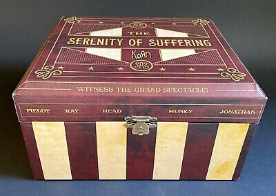 KORN Serenity of Suffering Limited Edition Box Set | eBayKorn Remember Who You Are Special Edition