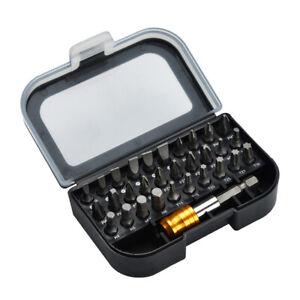 31-Pcs-Screwdriver-Bit-Set-30Pc-Screwdriver-Bits-1Pc-Quick-Release-Hex-Chuck