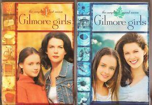 gilmore girls season 1 2 dvd tv shows first second brand new ebay. Black Bedroom Furniture Sets. Home Design Ideas