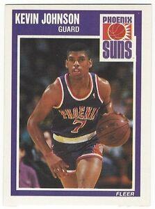 1989-90-FLEER-BASKETBALL-123-KEVIN-JOHNSON-ROOKIE-NEAR-MINT
