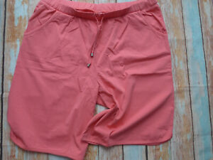 Sheego-Trousers-Bermuda-Shorts-Coral-Tone-Ladies-Size-44-to-58-238