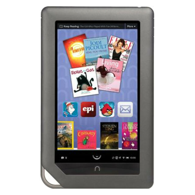Barnes   Noble Nook Color 8GB, Wi-Fi, 7in - Black Very Good 39d757ffc8