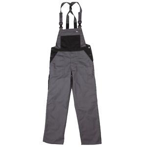 Arbeits-Latzhose-Arbeits-Traegerhose-Arbeitskleidung-Berufsbekleidung-Hosentraeger