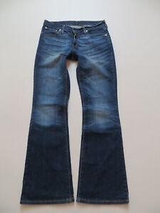 Levi-039-s-529-Bootcut-Jeans-Hose-W-29-L-32-Vintage-Denim-mit-8957-Waschung