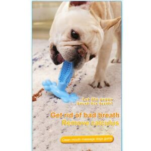 Pet-Dog-Molar-Rod-Chews-Toothbrush-Teddy-Puppy-Stretch-Rubber-Pet-Teething-Toy