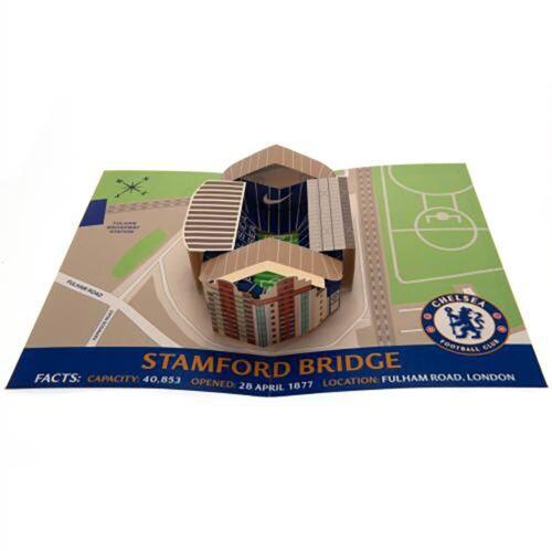 Chelsea F.C Pop Up Birthday Card