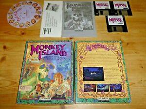 100% De Qualité The Secret Of Monkey Island-lucasarts-apple Macintosh-afficher Le Titre D'origine