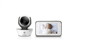 Motorola-MBP854CONNECT-Dual-Mode-Baby-Monitor-with-4-3-Inch-LCD-Parent-Monitor