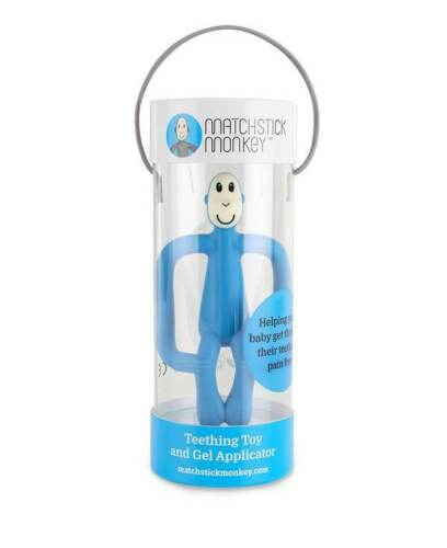 Matchstick Monkey Original Monkey Teether Toy and Gel Applicator BNIB