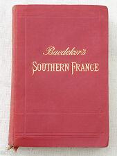 Baedeker Guide - SOUTHERN FRANCE - 1914 -  ( 6th Ed) , K Baedeker