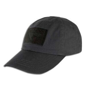 Condor-Black-Tactical-Cap-Hat-Black