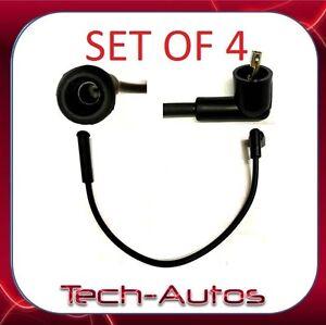 SET-OF-4-Aprilia-Futura-Caponord-Pegaso-Ignition-Plug-Coil-HT-Cable-Wire-Lead