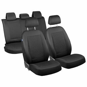 Car seat covers fit Volkswagen New Beetle  black//blue  leatherette full set