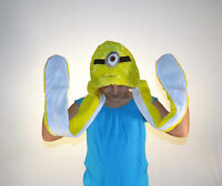Dispicable Me Phile One Eyed Minion Animal Hat With Long Paws