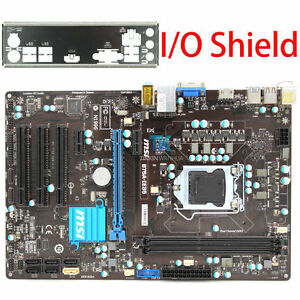 Details about for MSI B75A-IE35 Intel Motherboard CPU i7 i5 i3 LGA 1155  DDR3 I/O Shield