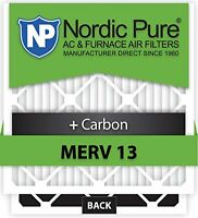 20x25x5hm13+c-1 Honeywell Replacement Merv 13 Plus Carbon Ac Furnace Air Filter, on Sale